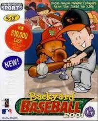 2003 Backyard Baseball Backyard Baseball 2001 Box Shot For Pc Gamefaqs