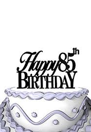 amazon com meijiafei happy 85th birthday cake topper grandma or