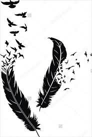 9 bird designs psd vector eps