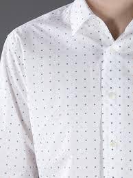 ferragamo button down dress shirt in white for men lyst