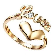 love rings silver images Buy vorra fashion new 14k gold plated 925 silver love ring for jpg