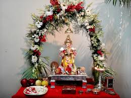 flower decoration in home the world u0027s newest photos of flower and ganpati flickr hive mind