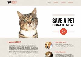 10 pets and animals website templates and wp themes