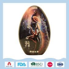 customized egg tin box for tea and candy tin boxes customized egg