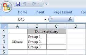 how can i send sas data results to specific cells in an excel