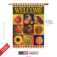 Fall Garden Flag Autumn Collage House Flag U0026 More Garden Flags At Flagsforyou Com