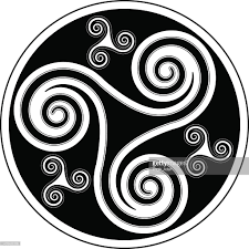 celtic spiral ornament vector getty images