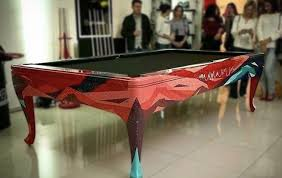 Ping Pong Pool Table Modern Billiard Table Trade Only Custom Game Tables