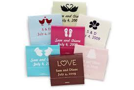 wedding matchbooks personalized matchbooks