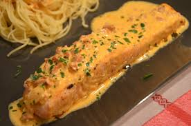 cuisiner pavé saumon pavés de saumon sauce chorizo sevencuisine