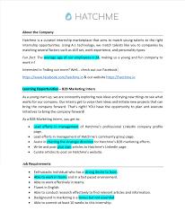 Human Resources Generalist Cover Letter Intern Job Description Template Virtren Com