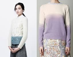 knitting inspiration dip dye u0026 ombre u2014 one social