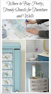 where to buy stencils for furniture and walls 5 best resources