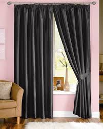 Curtains 90 Width 72 Drop Black Curtains Bespoke Curtains Online Blinds Uk