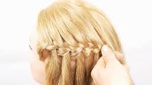 tutorial rambut waterfall 3 ways to do a waterfall french braid wikihow