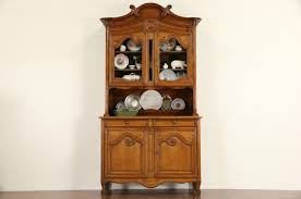 french provincial china cabinet french provincial style china