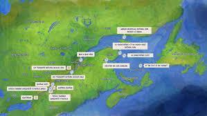 Bird View Map Saint Lawrence Scavenger Hunt Map Bird U0027s Eye View