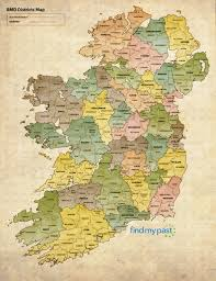 Time Difference Map Irish Genealogy Problems Trace Ancestors Findmypast