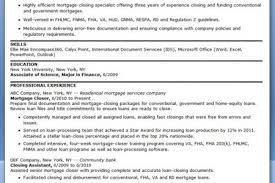 Mortgage Loan Processor Resume Sample by Loan Processor Resume Sample Proceduresselected Cf