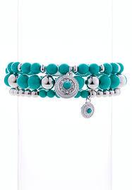 colored bead bracelet images Colored bead stretch bracelet set bracelets cato fashions jpg