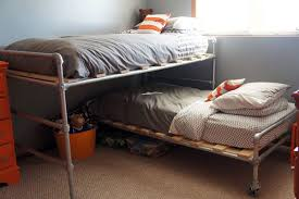 Places That Sell Bed Frames 47 Diy Bed Frame Ideas Built With Pipe Simplified Building