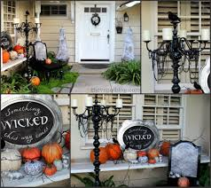 spooky porch decor and a halloween chair the v spot