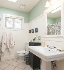 bathroom molding ideas beadboard molding ideas bathroom traditional with wainscoting