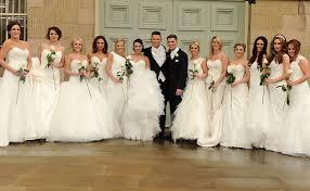 wedding dress cast hollyoaks actor kieron richardson marries carl hyland