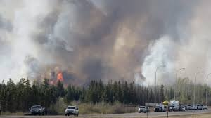 Canada Wildfire Satellite by Out Of Control U0027 Fort Mcmurray Fire Could Double In Size Goodale