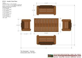 Outdoor Wooden Chairs Plans Home Garden Plans Gt101 Garden Teak Table Plans Out Door