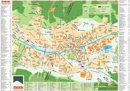 City Map Of Torino Turin by Chamonix Town Maps Les Houches Town And Argentiere Village Map