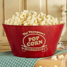 personalized serving dish personalized popcorn bowl large serving bowl for the home