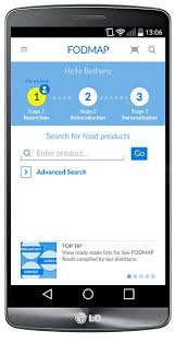 new fodmap app uses diet proven to reduce symptoms to help avoid