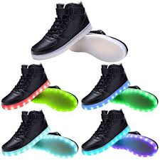 light up high tops nike amazon com tutuyu kids 11 colors led light up shoes high top