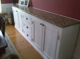 Used Sideboards And Buffets Rembunco - Dining room buffet cabinet