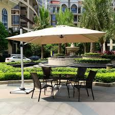 Sun Umbrella Patio 3x3 Meter Outdoor Sun Umbrella Parasol Garden Furniture Cover