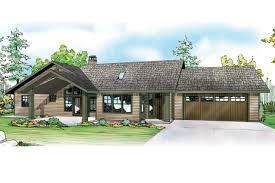 image of ranch house designs inc ranch home design roots in the ranch house plan elk lake 30 849 front elevation