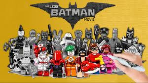 the lego batman movie 20 minifigures coloring book pages video for