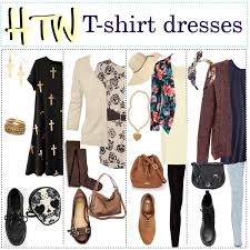 how to wear a t shirt dress our t shirt