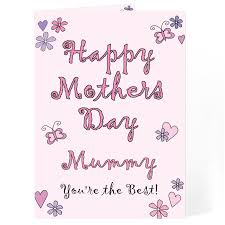 mothers day card messages flowers and butterflies happy mothers day card