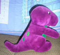 Barney And The Backyard Gang A Day At The Beach 450 Here Is An Ultra Rare Stuffed Barney Original Doll From 1990