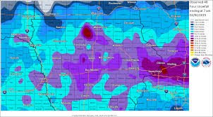 Snowfall Totals Map January 2015 Central Iowa Climate Summary The Weather Whisper