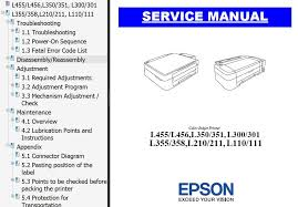 reset printer l210 manual epson l455 l466 l110 l111 l210 l211 l300 l301 l350 l351