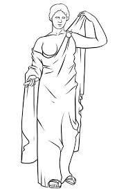 awesome drawing greek gods and goddesses coloring page netart