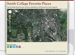 Smith College Map Smith College Favorite Places App U2013 Smith Gis