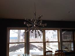 Modern Light Fixture by Bedroom Modern Home Lighting Design With Awesome Sputnik Light