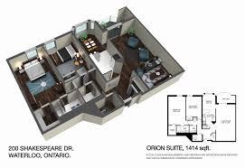 floor plans shakespear orion suite