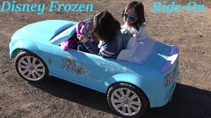 pink power wheels mustang ride on power wheels a disney frozen ford mustang going uphill