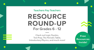 resource round up logic puzzles test prep the periodic table