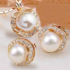 shell pearl necklace wholesale images Free shipping wholesale price women 39 s lady jewellery bridai jpg